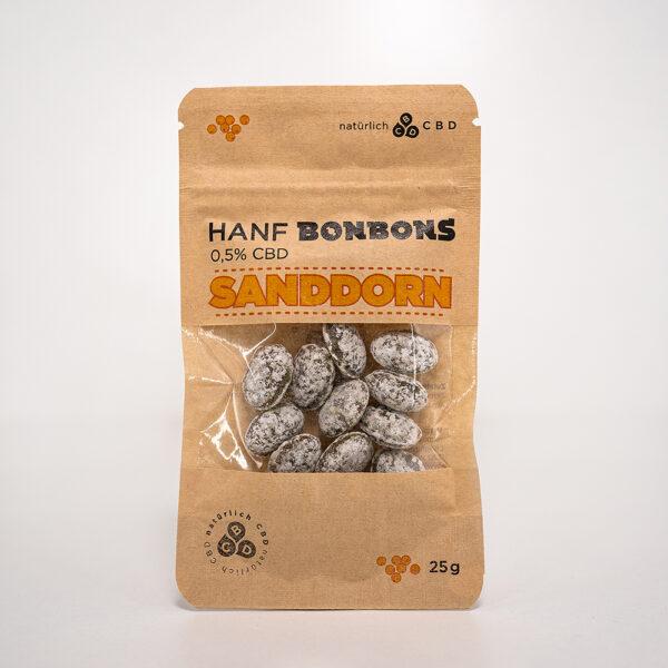 Hanf CBD Bonbons Sanddorn