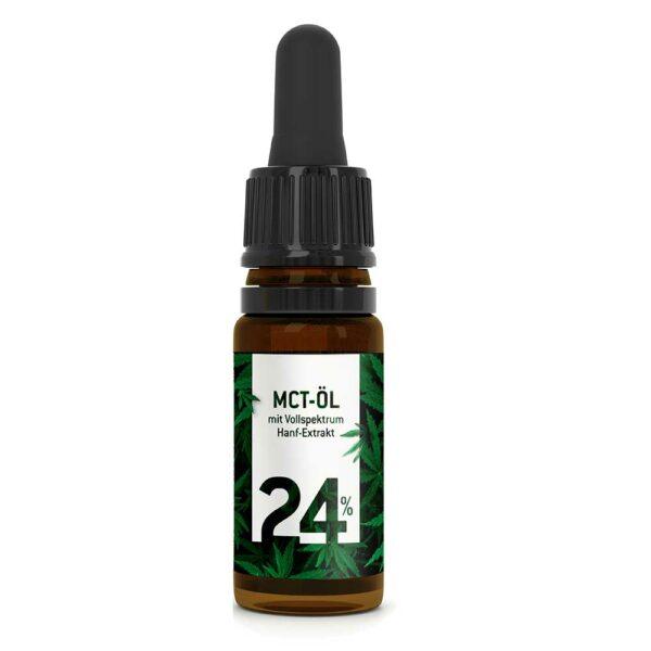 MCT Öl mit 24% CBD