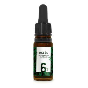 MCT Öl mit 6% CBD von den Hanf BRüdern