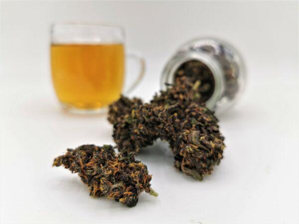 Purple Tee CBD Blüten Tee